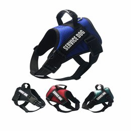 mesh harness vest for dogs NZ - Dog Harness Vest Reflective Breathable Mesh Service Pet Dog Vests NO Pull Handle Control Harness For Dog Breeds Training Walking