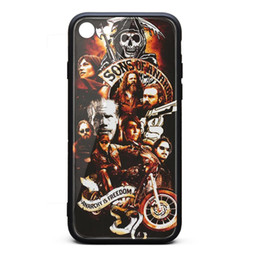 $enCountryForm.capitalKeyWord Australia - Sons of Anarchy motorcycle club skull white iphone cases,iphone 6,iphone6s,iphone 6plus,iphone 6splus,iphone7,iphone 8 cases cute phone cas