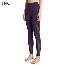 $enCountryForm.capitalKeyWord Australia - Leggings For Women Yoga Compression Pants Women Sports Gym Tights Woman Sportswear Leggings Sports Fitness Slim Mesh Yoga Pants