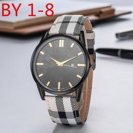 Brand Luxury Style Watch Australia - England Style Fashion Men Women Casual Dress Wristwatch Leather Strap Quartz Movement Male Female Gift Clock Luxury Brand Watch knight
