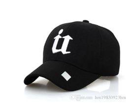$enCountryForm.capitalKeyWord NZ - The 2017 south Korean summer letter U baseball cap star and men's sports hat sunshade cap