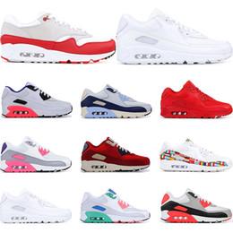 Football beach online shopping - Cheap running shoes for men Infrared University Red South Beach Grape International triple white black sports sneaker trainer size