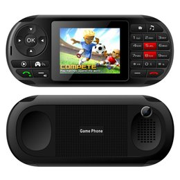 $enCountryForm.capitalKeyWord Australia - 2.8 Inch Video Game Console for PSP Game Console Dual card 2G Mobile Phone Mini Pocket Handheld Game Player Support 4 Frequency