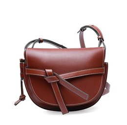 $enCountryForm.capitalKeyWord Australia - Women Mini Saddle Bag Fashion Shoulder Bag Top Quality Real Leather Designer Handbags Purse Crossbody Messenger Bag Flap Hobos Bags