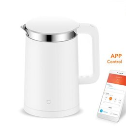 teapot stainless steel kettle 2020 - XIAOMIMijia Electric kettle Smart Constant Temperature Control kitchen Water kettle samovar 1.5L Thermal Insulation teap