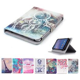 $enCountryForm.capitalKeyWord Australia - Cartoon Printed Universal 7 inch Tablet Case for Samsung Galaxy Tab 7.7 LTE I815 P6800 Cases kickstand PU Leather Flip Cover Cases