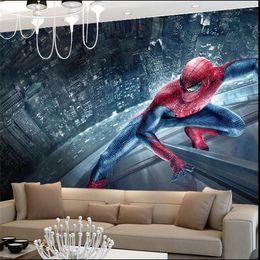 $enCountryForm.capitalKeyWord UK - Spiderman Kids Bedroom Wallpaper Roll Large Size Photo Wall Murals 3D Mural Wallpapers for Living Room Home Decor Custom