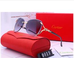 Womens Polarized Sun Glasses Australia - Designer Polarizerd Sunglasses for Mens Glass Mirror Gril Lense Vintage Sun Glasses Eyewear Accessories womens with box 0013#