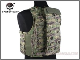 Military Style Packs Australia - Military Airsoft Water Bag Hiking Tactical EmersonGear LBT6119A Style Hydration Pouch 2L EM7438 AOR1 AOR2 #294784