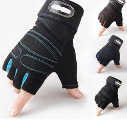 weighted gloves for men NZ - Zacro Gym Gloves Fitness Weight Lifting Gloves Body Building Training Sports Exercise Sport Workout Glove for Men Women M L XL