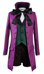 Alois trAncy online shopping - Black Butler Kuroshitsuji Alois Trancy Purple Uniform Cosplay Costume