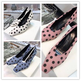 Dot Line Dress Australia - Original single quality shoes Imported top fabric Inner lining cowhide foot pad Italian leather outsole Women's business dress shoes