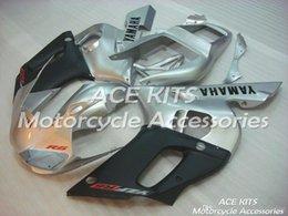 $enCountryForm.capitalKeyWord NZ - ACE KITS Motorcycle fairing For YAMAHA YZF R6 1998-2002 Injection or Compression Bodywork glamorous silver black NO.2312