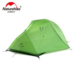 $enCountryForm.capitalKeyWord NZ - Naturehike Star River Tent 20D Silicone Fabric Ultralight 2 Person Double Layers Aviation Aluminum Alloy Rod Camping Tent