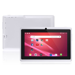 Chinese  7inch Quad core android 4.4 kids tablet pc Q8 Q88 allwinner 512M 8GB bluetooth HD 1024*600 tablets dual camera wifi manufacturers