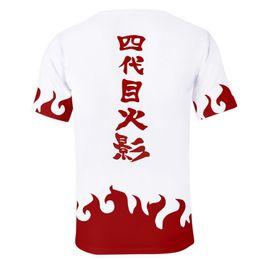 Naruto aNime t shirts online shopping - Japanese Anime Naruto D print t shirt men Hokage Ninjia Konoha sasuke itachi uchiha Kakashi Akatsuki short sleeve Funny tshirt