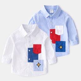 Цены на печатные машины в Южной Африке Рубашки для мальчиков с модными рубашками из чистого хлопка
