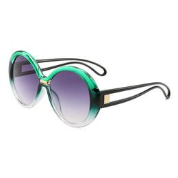 $enCountryForm.capitalKeyWord Australia - Sexy Ladies Leopard Sunglasses Women Fashion Vintage Brand Big Round Frame Gradient Sun Glasses Oculos UV400 Eyewear Female