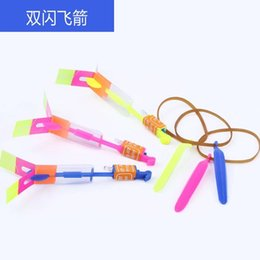 Toy Swords Wholesale NZ - Luminescent Slingshot, Flying Arrow, Blue Lamp, Flying Sword, Night Market Plaza Toys, Hot-selling Small Toys, Wholesale Sources, Direct Sal
