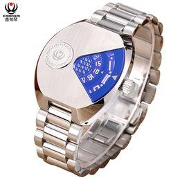 Water Resistant Wrist Watch Australia - XINBOQIN Factory Wholesale Student Creative Design Quartz Stainless Steel Tonneau Water Resistant Fashion Wrist Watch Build Brand Your Own