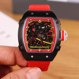 $enCountryForm.capitalKeyWord Australia - 12 Style Best version RM 67-02 Skeleton Dial Automatic Mechanical 28800 Vph RM67-02 Mens Watch 316L Steel Case Nylon Strap Sport Watches 11