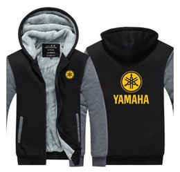 China Fashion for yamaha Cotton Zipper Autumn Hoodies Jacket Men Clothes Fashion Hooded Outdoor sports warm Hoodies jacket suppliers