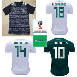 19 20 Mexico national AWAY CHICHARITO Soccer Jerseys 2018 World Cup Mexico  HOME R.JIMENEZ H.HERRERA 2019 Football Jersey dbfcf5822