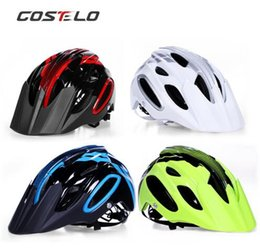 Bicycle Off Road Australia - Costelo AM XC TRACK Bicycle Helmet MTB Cycling Bike Sports Safety Helmet OFF-ROAD Super Mountain Bike Cycling Helmet BMX