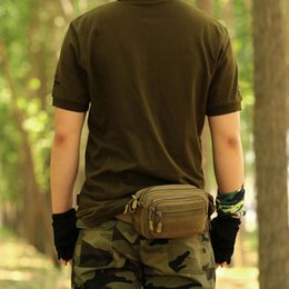 nylon equipment bag NZ - New Men Waist Bags Nylon Waterproof Waist Bag Men Fanny Pack Camouflage Travel Bicycle Equipment Tools Accesorios