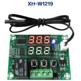 $enCountryForm.capitalKeyWord NZ - 1pc XH-W1219 DC 12V Dual LED Digital Display Thermostat Temperature Controller Regulator Switch Control Relay NTC High Quality New Original