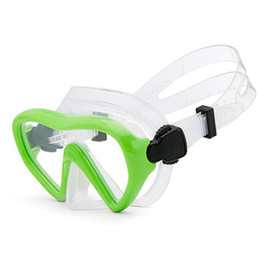 Discount swim masks - 2019 new children's diving mirror mask breathing tube shockproof anti-fog swimming glasses with floating diving acc