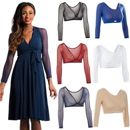 855d0ea3565e4 Arm Sleeve Sexy Both Side Wear Crop Tops Slimming Control Plus Size Seamless  Arm Shapewear Shaper Fashion Women Shapers  40