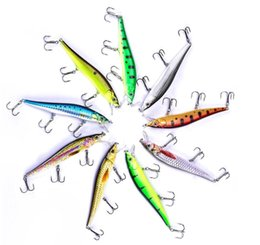 New lifelike fishiNg lures online shopping - Manufacturer Supply In Stock Lifelike Bait Lure Wobbler New Arrival Artificial Bait Fishing Lures Fishing Wobblers g mm inch