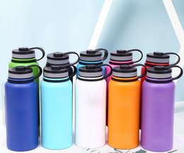 gym water bottles Australia - New 2019 Water Bottle Stainless Steel Insulated Portable Durable Durable Wide Mouth Outdoor Gym Sports Hydromatraz 18oz   32oz   40oz