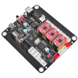 engraver wood UK - Freeshipping 3 Axis Cnc Controller Board Double Y Axis Usb Driver Board+Offline Control Board For Cnc Engraver Wood Carving