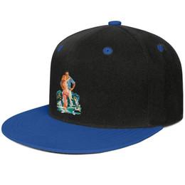 $enCountryForm.capitalKeyWord Australia - Burt Reynolds Gator Art Design Hip-Hop Cap Snapback Flatbrim Sun Hats HipHop Style Adjustable