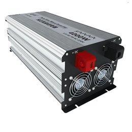 Lcd Inverter UK - 2000W 4000W 12 24V 48V 60V 72V to 220V 230V LCD Display Pure Sine Wave power Inverter for Solar, RV, Car, Boat