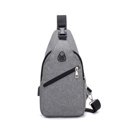 7495c61051 Casual Anti Theft Nylon Waterproof Men Money Phone Sling Shoulder Bag Strap Back  Crossbody Bags For Man