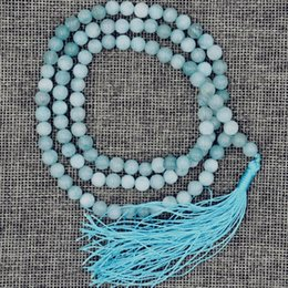 $enCountryForm.capitalKeyWord NZ - select colour new8mm stone Buddhist Natural 108 Prayer Beads Mala Bracelet Necklace