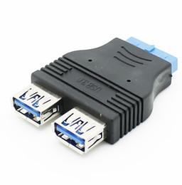$enCountryForm.capitalKeyWord Australia - USB3.0 cable adapter, USB3.0 20pin to 2 ports USB3.0 A female connector