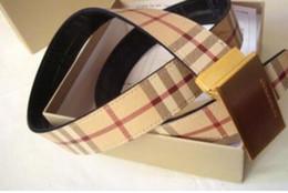 Wholesale official tops online – design 2019 B Top Quality Togo Epsom Reversible Big Buckle Reversible Textured Leather Mens Belt Official Belt With Original Box