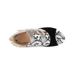 $enCountryForm.capitalKeyWord Australia - Hot Sale- Snake-grain Sandal Summer Sandals Boots Lady Designer Shoe Peep Toe Ankle-Wrap Sandals Back Zip Stiletto High Heel For Women 10cm