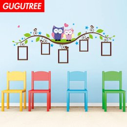 $enCountryForm.capitalKeyWord Australia - Decorate Home photo trees bird cartoon art wall sticker decoration Decals mural painting Removable Decor Wallpaper G-1738