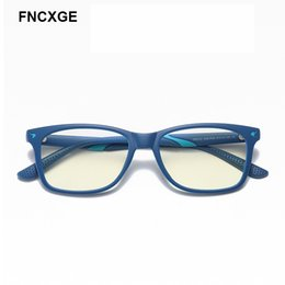 kids blocks wholesale Australia - 2020 Children Glasses Brand Design Blue Light Blocking Kids Girls Boys Optical Glasses TR90 Flexible Frame Computer Eyeglasses