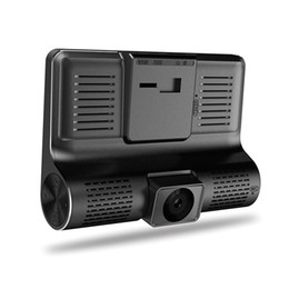 "$enCountryForm.capitalKeyWord Australia - 3 Lens triple dash cam car DVR vehicle video recorder 4"" display FHD 1080P front 170° rear 140° interior 120° night vision G-sensor"