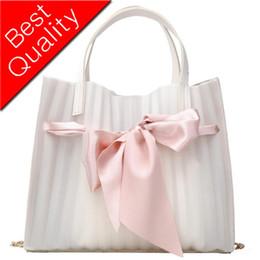 Big Bow Bag Australia - Big bag 2019 Summer New Quality Women's Handbag Cute Big Bow Tote bag Chain Shoulder Messenger bag