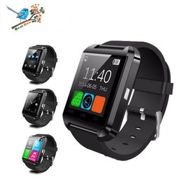 note smart watch NZ - High Quality Bluetooth u8 smart watches Wrist Watch for iPhone 7 6s plus Samsung S7 Note 7 HTC Android Phone