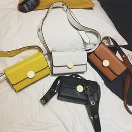 Body Charms Australia - Women Handle Bag Fashion Metal Ring All-match Casual PU Single Shoulder Bag Charming Perfect For Business Work Travel Cross Body Wholesale