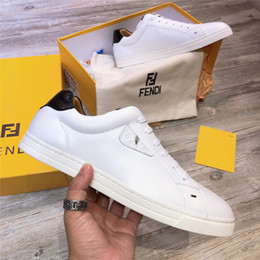 7a3e2f5518a3 Brand Designer For Spring Autumn Joker White Sneakers Luxury Fashion Real  Leather Lightweight Men Shoes With Lace Up Flat Leisure Shoes
