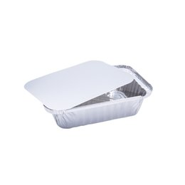 $enCountryForm.capitalKeyWord Australia - Disposable Aluminum Oblong Foil Pans With Lid Recyclable Tin Liners Food Storage Tray Containers For Cooking Baking Takeout